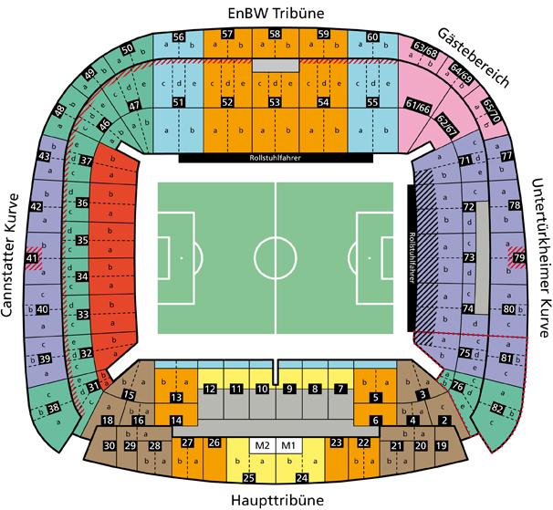 Vfb stuttgart tickets stuttgart fc tickets stuttgart for Mercedes benz stadium seat map